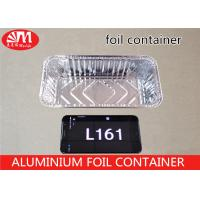 Wholesale Rectangle Aluminum Foil Food Containers ,L161 Aluminium Foil For Food Packaging from china suppliers