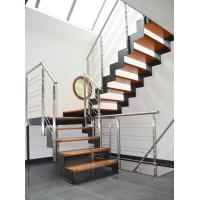 Wholesale Stainless steel rod bar railing with round solid rod/ solid bar balustrade from china suppliers