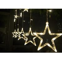 Wholesale 2M LED Curtain Lights , 110v 220 Volt Christmas Star Curtain Lights from china suppliers