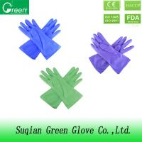 Wholesale Paste resin Pink household cleaning gloves / ladies gardening gloves from china suppliers