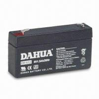 Wholesale 6V Sealed Rechargeable Battery with 1.3Ah Rated Capacity from china suppliers