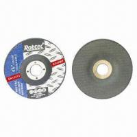China Depressed Center Reinforced Resin Grinding Disc, 4-1/2 Inches, for Metal on sale