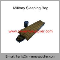 Wholesale Wholesale Cheap China Army Green Leight-weight Military Sleeping Bag from china suppliers