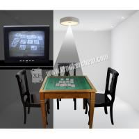 Buy cheap Backside Marked Cards Casino Cheating Devices White Creative Ceiling Lamp With Camera from Wholesalers