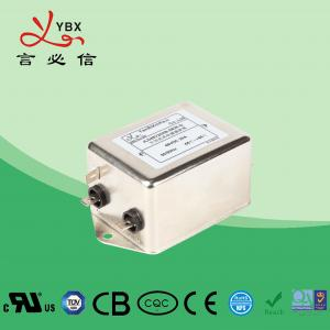 Wholesale Yanbixin General Coil Single Phase RFI Filter / EMC Filters For AC Power Line from china suppliers