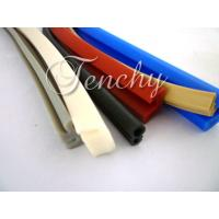 Wholesale Waterproof Flexible Silicone Seal Strip Dust Resistant , Shore 60A To 90A from china suppliers