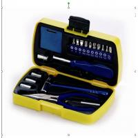 Wholesale 19 pcs mini tool set ,with pliers ,tape, hammer ,joint bar ,sockets . from china suppliers