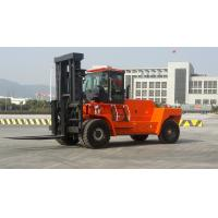 Wholesale Wear Resisting Diesel Forklift Truck , Automatic 2 Stage / 3 Satge Mast Forklift from china suppliers