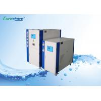 Wholesale Lower Speed Water Cooled Water Chiller Scroll Commercial Chiller Units 145KW from china suppliers