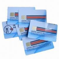 Wholesale IC cards/smart cards/chip cards, used in banks and traffic from china suppliers