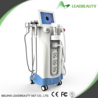 Wholesale 4 multi-functional heads Non-surgical Fat Reduction Machine HIFU equipment from china suppliers