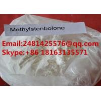 Buy cheap White Anabolic Androgenic Steroids Methylstenbolone For Muscle Growth CAS 5197 from wholesalers