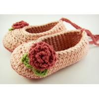 Wholesale Newborn baby girl shoes crochet baby shoes infant sandals crochet kids sliper, shoes from china suppliers