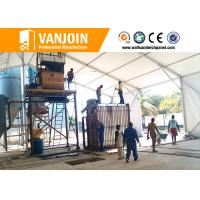 China Low Cost Concrete Fast Insuallation Partition Wall Board Making Machine on sale