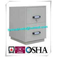 Wholesale Fire Resistant Filing Cabinets , 2 Drawer Fireproof File Cabinets For Documents from china suppliers