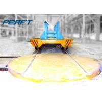 Wholesale 360 Degree Rotating Rail Material Handling Turntable/90 degree with turntable to rotate a trailer from china suppliers