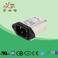 Wholesale Low Pass 1450VDC 0.8mA IEC 320 Plug In RFI Filter from china suppliers