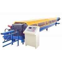 Wholesale High Speed Round Gutter Machine , PLC control Metal Gutter Bending Machine from china suppliers