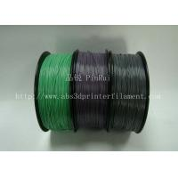 Wholesale Custom Color Changing abs and pla filament 1.75 / 3.0mm Grey to white from china suppliers