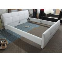 Low price home furniture modern simple leather bed B36