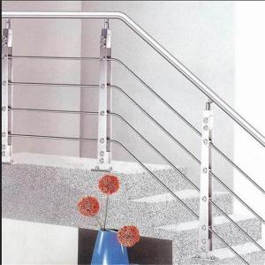 China Rod balustrade kit ms square pipe weight railing design on sale