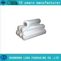 Wholesale pre stretch 280% Hand stretchwrap film clients demand 500M length from china suppliers