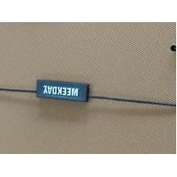 China Coloful Garment Seal Tags , Plastic Hang Tag Cord Lock Customized Shaped on sale