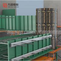 Wholesale column formwork,/square column formwork,/made of plywood for concrete forming from china suppliers