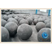 Buy cheap Low Breakage Rate cast steel iron grinding ball Low wear resistant grinding from wholesalers