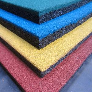 Henan Manufacturer Sports flooring rubber tiles factory price