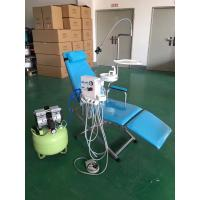 Buy cheap CE & ISO approval LED lamp dental Turbine folding chair unit with spittoon from wholesalers