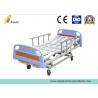 Fourth Aluminum Alloy Handrail Adjustable 3 Manual Medical Hospital Nursing Care Bed (ALS-M322)