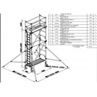 Wholesale Mobile Aluminium Scaffold Tower Durable 7.5m Easy Towers Scaffolding from china suppliers