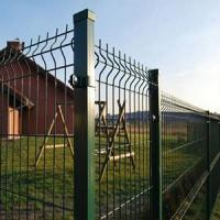 China 3d Welded Wire Mesh Fencing Panel Garden Fence For Residential on sale