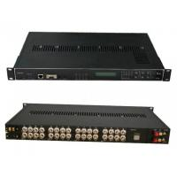 Wholesale 4 Channel Digital Video/Audio/Data Fiber Optics Receiver,Video Audio Multiplexer from china suppliers