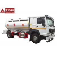 Wholesale Rigid  Gas Delivery Truck , 4x2 Petrol Tanker Truck Rotproof Hose Turbo Charging from china suppliers
