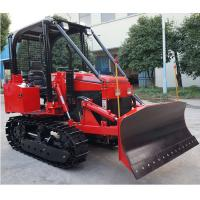 Wholesale 35hp multi-functional mini crawler bulldozer EPA diesel engine crawler dozer/tractor with front loader/backhoe from china suppliers