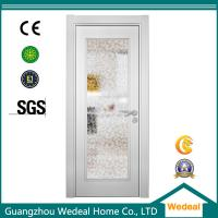 Wholesale Factory Supply White Wood Interior Panel Doors with Glass Panel from china suppliers