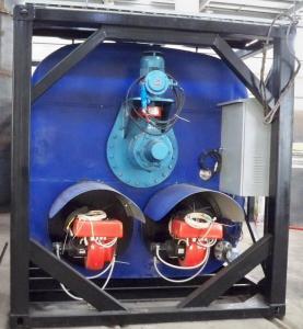 China Automatic Burner Bitumen Heating Tank  15KW Agitator  Asphalt Storage Tank on sale