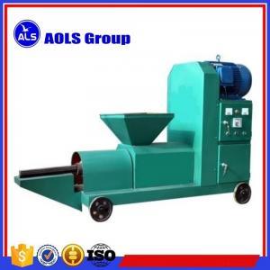 China biomass Wood sawdust briquette charcoal making machine sawdust screw extruder briquette press on sale