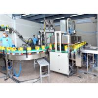 Buy cheap Mango Fruit Juice Processing Machines for 500-1000ml Glass Bottled 1000l/h Capacity from Wholesalers