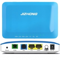 Wholesale Customized 2 Ports Fiber Optic Equipment 2FE EPON FTTH ONT Modem from china suppliers