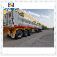 Wholesale 54000L CNG LNG Tanker 3 Axle Semi Trailer Tractor from china suppliers