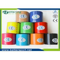 Breathable physio therapy kinesiology tape sports muscle tape strapping tape with different colours