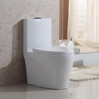 Wholesale Bathroom ceramic good sale elegant design cheap dual flush one piece indoor western toilet bowl from china suppliers