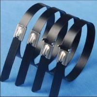 Stainless steel (PVC coated)cable tie