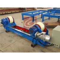 Lead Screw Adjustable Type Pipe Turning Rolls With France Schneider Inverter 20T