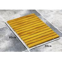Wholesale Recycle Waterproof WPC Composite Decking Bath Bathroom Floor Mat from china suppliers