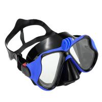 Buy cheap Adult Scuba Anti Fog Scuba Mask , Swimming Mask With Nose CoverCustomize Logo from wholesalers