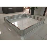 China DIY Anti Rusting Galvanized Metal Garden Beds L1200*W12000*H20MM Size on sale